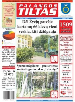 Palangos tilto laikraštis, Data: 2013-07-25, Numeris: 56 (1197)