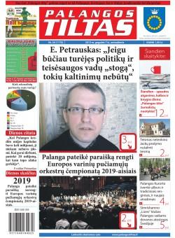Palangos tilto laikraštis, Data: 2013-05-06, Numeris: 34 (1175)