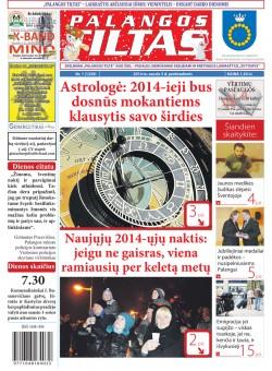 Palangos tilto laikraštis, Data: 2014-01-02, Numeris: 1 (1239)