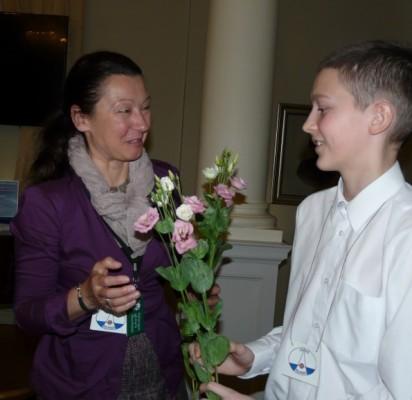 Palangos frankofonų klubo aktyvi narė Miglė Jonaitienė dėkojo visiems Frankofonijos dienos minėjimo dalyviams.