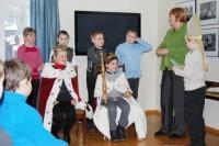 Jono Šliūpo muziejuje klegėjo vaikų balsai