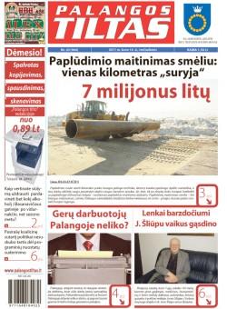 Palangos tilto laikraštis, Data: 2011-03-15, Numeris: 20 (964)