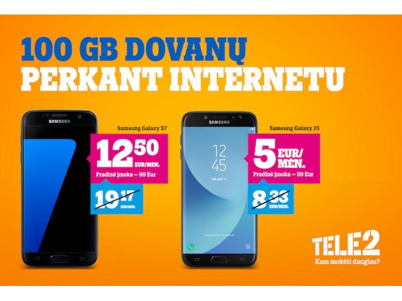 """""""Tele2"""" nuolaidų metas: išmanieji pigiau, interneto duomenys – dovanų"""