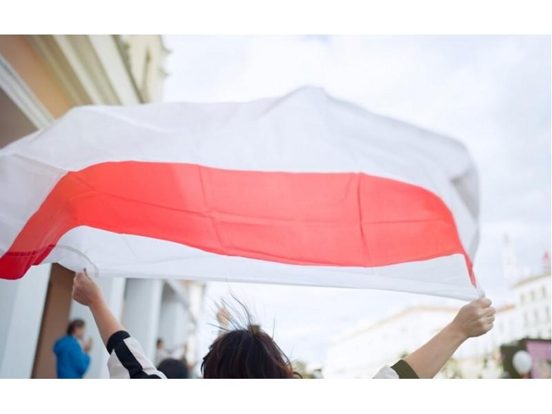Nors Palanga neturi miesto-partnerio Baltarusijoje, ji taip pat dalyvavo Baltarusijos palaikymo solidarumo akcijoje