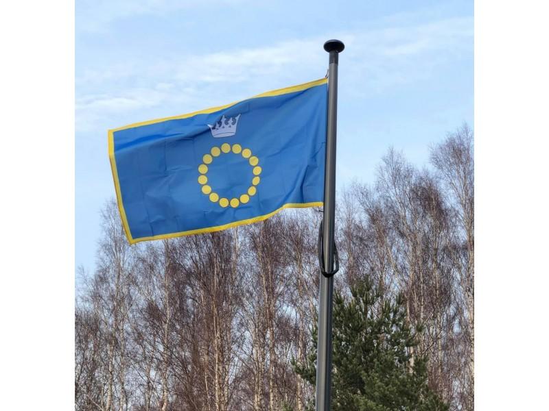 Tokia Palangos vėliava plevėsuoja palangiškio Sauliaus Jonausko namuose