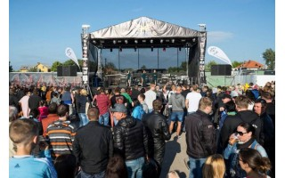 Šventojoje šurmuliuoja Paplūdimio baikerių festivalis