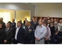Šventiniame Angelų sargų arba Policijos dienos renginyje dalyvavo pareigūnai, taip pat svečiai, norintys padėkoti už jų sunkų atliekamą darbą.