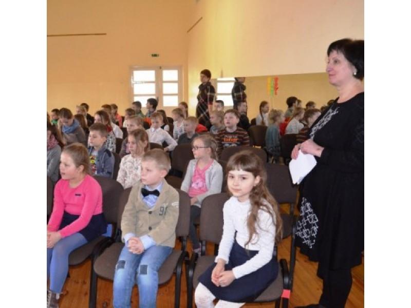 Keturių mokyklų popietė Šventojoje