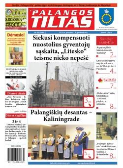 Palangos tilto laikraštis, Data: 2012-12-06, Numeris: 93(1136)