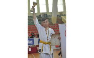 Sėkmingas palangiškių startas Lietuvos vaikų karate čempionate