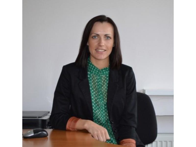 Visuomenės sveikatos specialistė Vilma Liaugaudaitė.