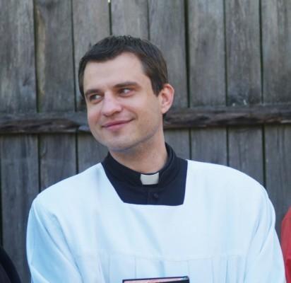 Palangos parapijos klebonas Marius Venskus