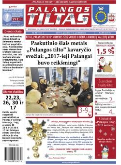 Palangos tilto laikraštis, Data: 2017-12-22, Numeris: 94(1625)