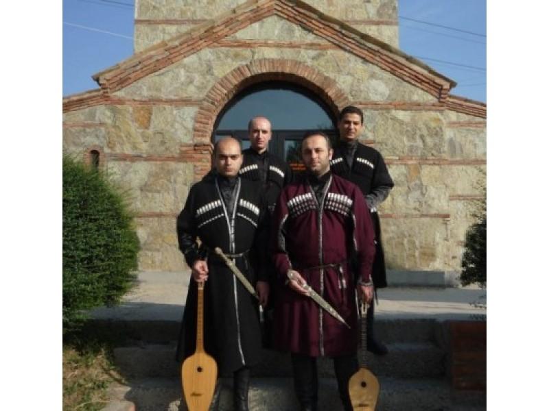 """""""Palangos vasara"""" kviečia pasimėgauti gruzinų folkloru – koncertuos ansamblis """"Gantiadi"""""""
