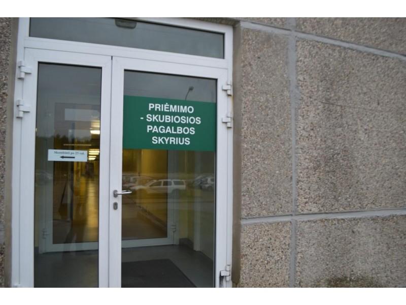 Apie tai, kad Palangos ligoninėje nėra pediatro, informuojama iš anksto.