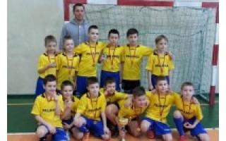 Vaikų mažojo futbolo turnyrą laimėjo palangiškiai