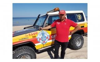 """Paplūdimio gelbėtojų vadas Jonas Pirožnikas: """"Ruošiamės sezonui tarsi nieko nebūtų įvykę ir laukiame komandų iš Savivaldybės bei Visuomenės Sveikatos Centro"""""""