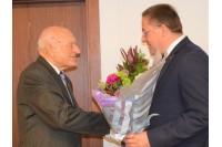 Palangos miesto garbės garbės piliečiui Daniui Puodžiui - kurorto vadovų sveikinimai