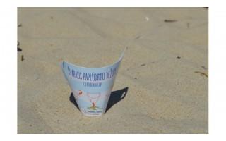 Palangos paplūdimiuose – naujovė, poilsiautojus raginanti neteršti gamtos
