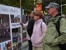 Šventės svečiai domėjosi  kurorto fotomeninkų ir jų bičiulių iš Jūrmalos paroda.