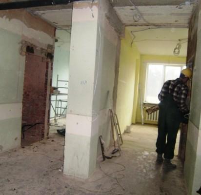 Palangoje pradėti Socialinių paslaugų tarnybos rekonstrukcijos darbai.