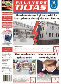 Palangos tilto laikraštis, Data: 2011-08-18, Numeris: 63 (1007)