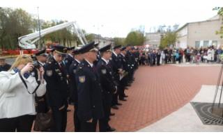 Ugniagesiai gelbėtojai minėjo Šv. Florijono gaisrų sergėtojų dieną