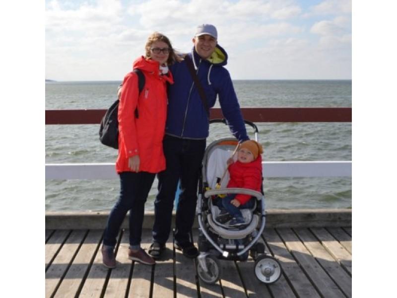 Meilė jūrai į Palangą atginė ir Virgį su Onute iš Vilniaus.