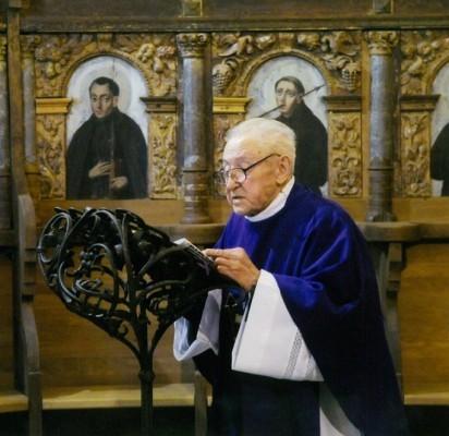 Rezidentas, kunigas Liudas Serapinas (1923-2010).