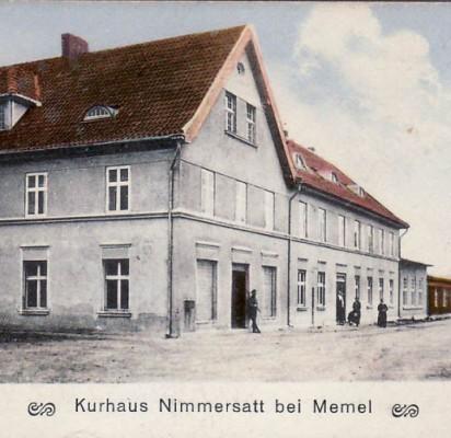 Nemirsetos Kurhauzas savo gyvavimo metais. Nuotrauka iš apleistazona.wordpress.com.