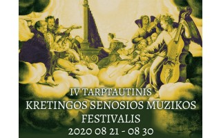 Sielą gydanti senoji muzika Kretingoje