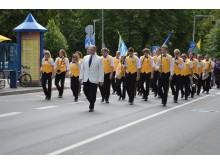 Abiturientus lydėjo Palangos orkestras.