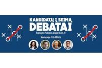 Prieš debatus Kretingoje – viltys į jaunimą ir nusivylusius rinkėjus