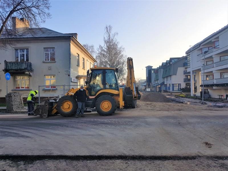 Pokyčiai mieste džiugina ir vairuotojus, ir pėsčiuosius - šiemet sutvarkyta daugiau kaip 5 km gatvių