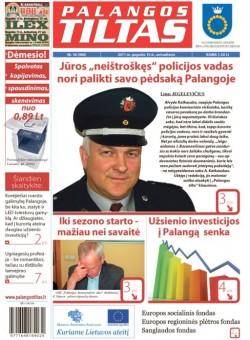 Palangos tilto laikraštis, Data: 2011-05-09, Numeris: 36 (980)