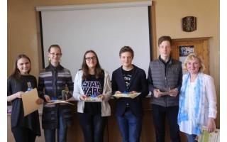 Palangos mokiniai varžėsi gamtos mokslų olimpiadoje