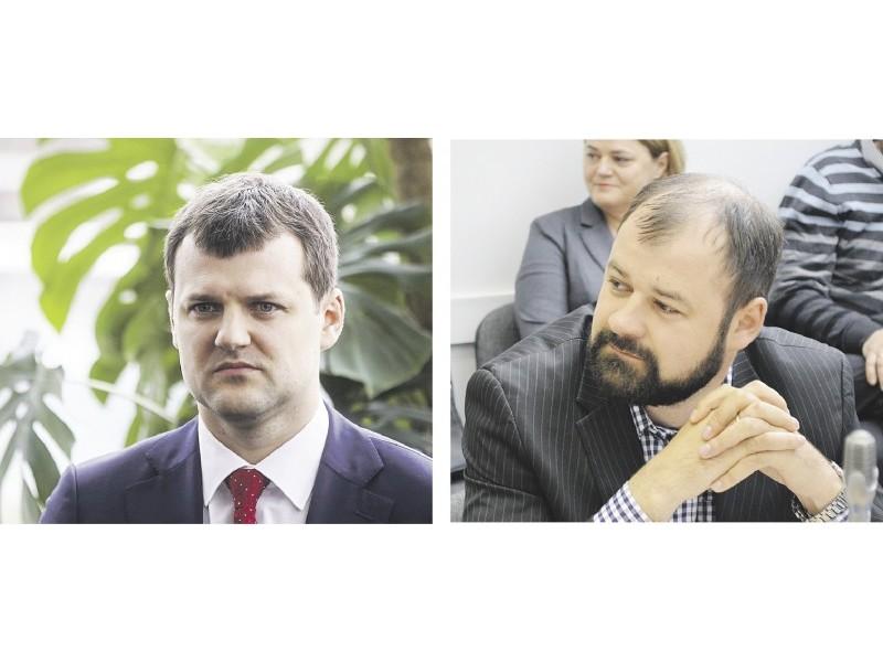 Gintautas Paluckas ir Danas Paluckas