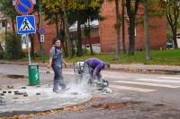 Palangoje ir Šventojoje sparčiai tvarkomos gatvės