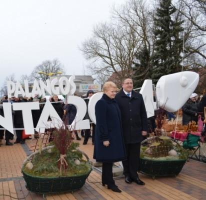 """Vienuoliktoje """"Palangos stintoje"""" žuvį kepė ir prezidentė D. Grybauskaitė"""