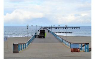 Platūs Palangos paplūdimai poilsiautojų laukia nuo ankstyvo ryto (FOTOGALERIJA)