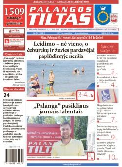 Palangos tilto laikraštis, Data: 2017-08-10, Numeris: 57(1588)