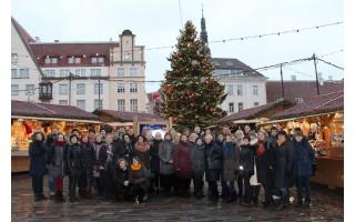 Vlado Jurgučio pagrindinės mokyklos pedagogai vyko apdovanojimų į Estiją