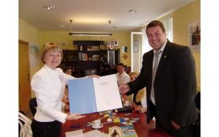Ukrainos miestas Skadovskas norėtų tapti Palangos partneriu