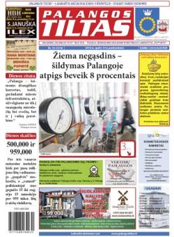 Palangos tilto laikraštis, Data: 2014-10-09, Numeris: 76(1314)