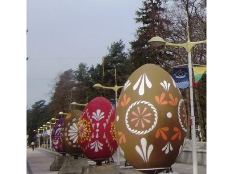 Antrąją šv. Velykų dieną Palanga džiugins atrakcijomis
