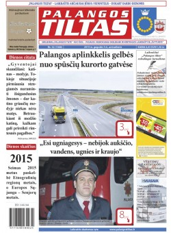Palangos tilto laikraštis, Data: 2015-05-04, Numeris: 32(1368)