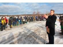 Vicemeras V. Ročys dėkojo žvejams už gausų dalyvavimą, o varžybų organizatoriams už rūpestį Kretingos krašto gamta bei tradicijų puoselėjimu.