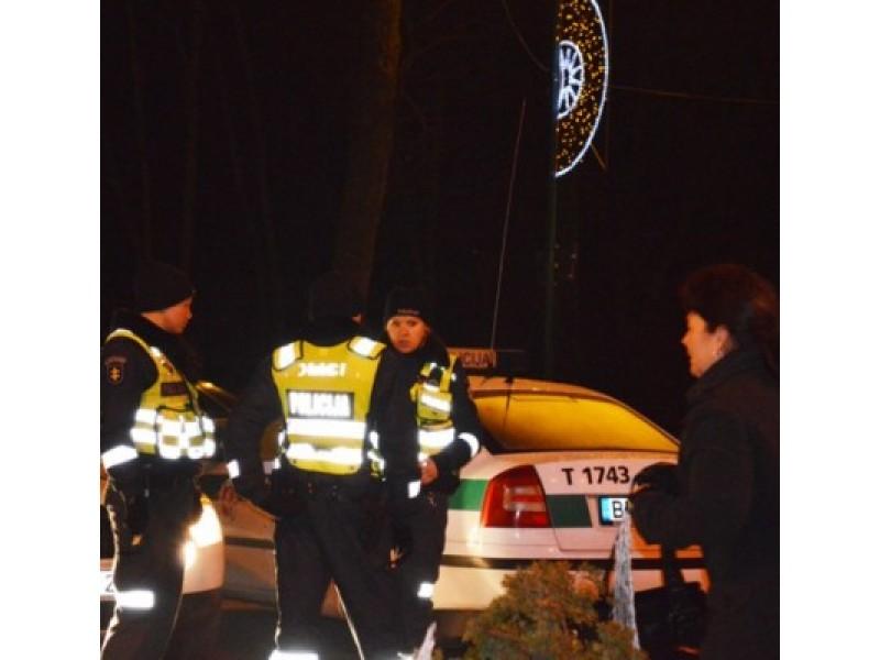 Policijos pareigūnų teigimu, naktis į sausio 1-ąją buvo neįprastai rami.
