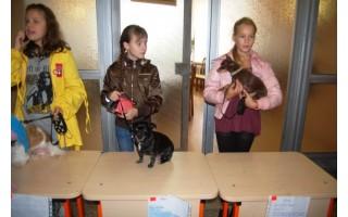 Mokyklinukai minėjo Pasaulinę gyvūnijos dieną