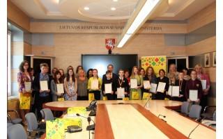 Respublikinė vokiečių kalbos olimpiada ir konkursas – V. Jurgučio mokykloje